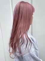 春にかわいいハイトーンピンクカラー!!