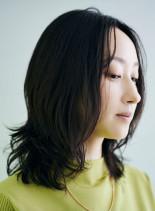 人気ランキングミディアムレイヤースタイル(髪型ミディアム)