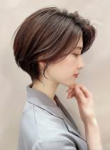 360°綺麗☆大人の小顔美人ショート(髪型ショートヘア)