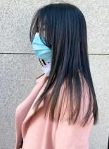 大人の艶髪ロング綺麗めストレート(髪型ロング)