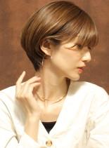 横顔美人☆ショートボブ(髪型ショートヘア)