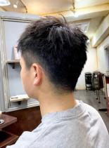 ビジネスマンズヘアー 刈り上げフェード(髪型メンズ)