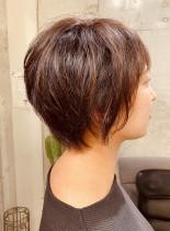 お手入れ簡単ショートヘア(髪型ショートヘア)