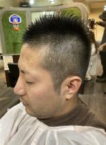 刈り上げベリーショートモヒカン(髪型メンズ)