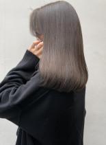 王道で可愛いローレイヤースタイル(髪型セミロング)