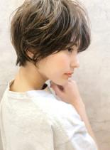 トップふんわりお手入れ簡単ショート☆(髪型ショートヘア)