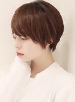 大人上品ショート(髪型ショートヘア)