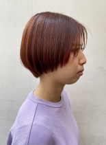 お洒落で可愛い大人マッシュショート(髪型ショートヘア)