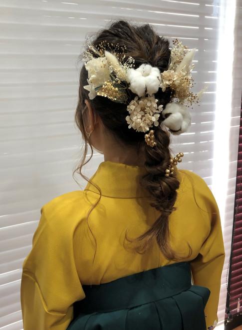 卒業式 羽織袴(ビューティーナビ)