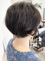 無造作ショートボブ(髪型ショートヘア)