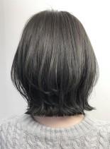 【ぺたんこ髪解消・ふわっとボブ】(髪型ボブ)