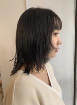 ミディアム×レイヤー(髪型ミディアム)