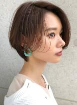 大人のためのショートヘア(髪型ショートヘア)