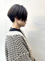 30代40代50代 お手入れ簡単ショート(髪型ベリーショート)