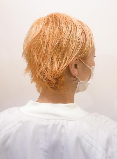 夏に向けて!フレッシュオレンジカラー!!(ビューティーナビ)