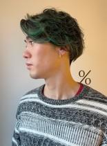 ハイライトカラーのメンズスタイル(髪型メンズ)