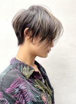 カッコいい大人ショート(髪型ショートヘア)