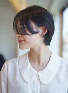 黒髪ハンサムショート(ビューティーナビ)