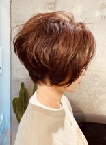 カッコいいショートボブ(髪型ショートヘア)