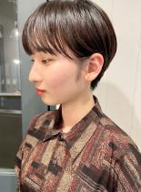 襟足スッキリ☆耳掛けショート(髪型ショートヘア)