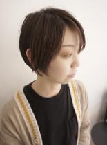 40代50代の大人のミニマムショート(髪型ショートヘア)
