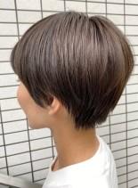 今年人気なマッシュショート(髪型ショートヘア)