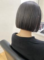 ぱっつんミニボブ(髪型ボブ)