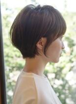 襟足スッキリ大人ショート(髪型ショートヘア)