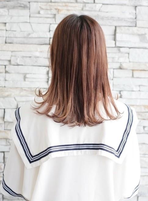 手入れ簡単髪型!前髪短め&外ハネパーマ(ビューティーナビ)