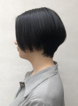 20代30代オススメ大人ショートボブ(髪型ショートヘア)