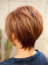 カッコいい大人ショートヘアー(髪型ショートヘア)