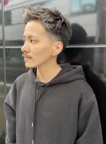 サイドを刈り上げたメンズベリーショート(髪型メンズ)