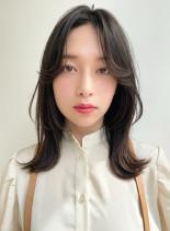 ミディアム(髪型ミディアム)