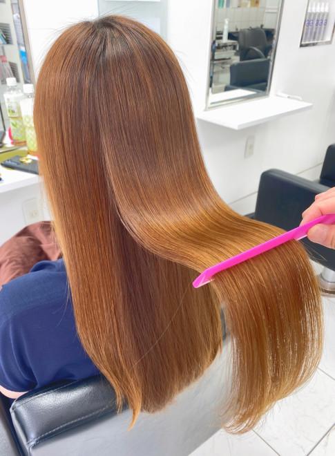 髪質改善・超音波縮毛矯正(ビューティーナビ)
