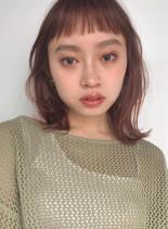 柔らかミディアム(髪型ボブ)
