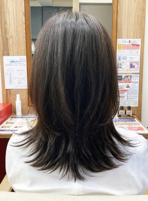 水素カラーとヘッドスパで健康的な艶髪へ(ビューティーナビ)