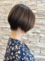 40代50代カッコいい大人ショート(髪型ショートヘア)