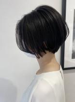 乾かすだけできれいなシルエットショート(髪型ショートヘア)