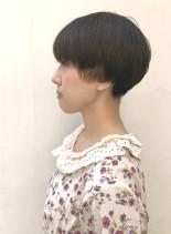 刈り上げショートマッシュ(髪型ショートヘア)