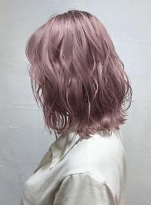 【トレンド透明感カラー】ペールピンク