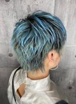 クールベリーショート(髪型ショートヘア)