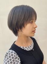 マスクと相性抜群ショートヘア(髪型ショートヘア)