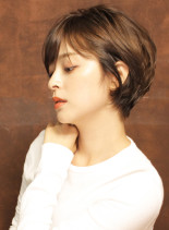 【黄金シルエット】フレンチショートボブ(髪型ショートヘア)