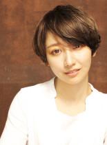 【オススメ】外国人風ハンサムショート(髪型ショートヘア)