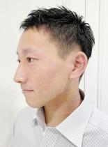 爽やか大人男性ビジネスベリーショート(髪型メンズ)
