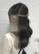 インナーカラー(髪型ロング)