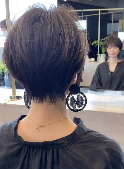 ショートヘア/大人/小顔/30代/40代(ビューティーナビ)