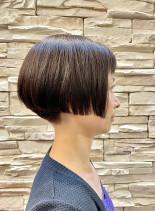 オトナショートボブ(髪型ショートヘア)
