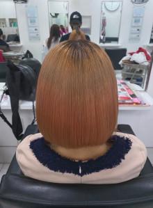 髪質改善・超音波縮毛矯正(ブリーチ毛)