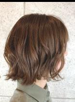 ふんわりボブ(髪型ショートヘア)